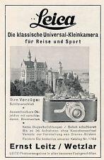 1931 Leica Kamera Neuschwanstein 8x12 cm original Printwerbung