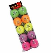 Vicky Cricket Rubber Play Ball, Pack of 10 multicolour Us