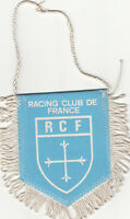 RCF Racing Club de France Paris FOOTBALL FANION WIMPEL PENNANT 80s