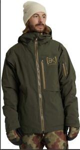 Men's Burton [ak] GORE‑TEX Helitack Stretch Jacket. Forest Night.