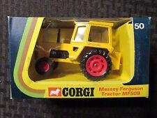 Vintage CORGI Massey Ferguson Tractor MF50B #50 MIB C-6