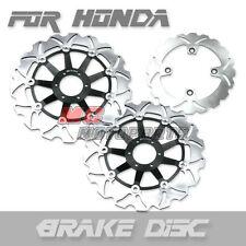 Front Rear Brake Disc For Honda CB 400 SF Super Four NC31 92 93 94 95 96 97 98