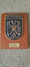 More details for german fregatte lubeck stapellauf  wall plaque please read