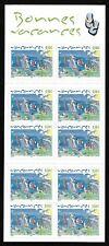 """Carnet Timbres France Neufs Autoadhésifs 2004 N°BC42 / BC 3672 """"Bonnes Vacances"""""""