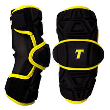 Tron Lx Tron Pro Adult Lacrosse Armguards - Black, Gold (New) Lists @ $60