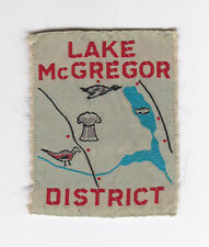 SCOUT OF CANADA - CANADIAN SCOUTS ALBERTA (ALTA) LAKE McGREGOR DISTRICT Patch