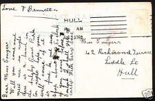 Genealogy Postcard - Family History - Conyers - Hull - Yorkshire  BH5180