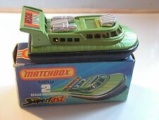 MATCHBOX  RESCUE  HOVERCRAFT 2  MIB NEUF BOITE  super fast