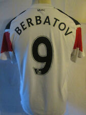 Manchester United 2010-2011 Berbatov 9 Away Fußball Shirt Größe Small/34482