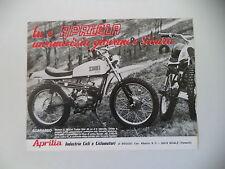advertising Pubblicità 1971 MOTO APRILIA SCARABEO 50