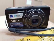 Sony Cyber-shot DSC-W650 16.1 MP Digital Camera - Black - for parts