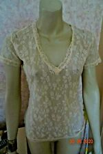 TOGETHER LACE FLORAL  CREAM BLOUSE SIZE 12/14 RRP £28 BNWT