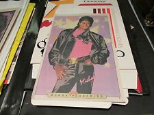 Michael Jackson , New York Sunday News , Comic Poster   ,1985 ,Vintage