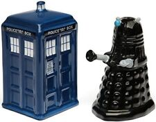 Doctor Who Tardis vs Dalek Salt and Pepper Shaker