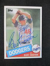 Burt Hooton Los Angeles Dodgers Autographed Signed 1985 Topps #201 EXMT-NM 463