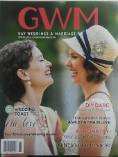 Gay Weddings & Marriage Magazine Spring 2016 5 Killer Toast Tip FREE SHIPPING sb