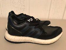 Men's y-3 yohji yamamoto adidas pure boost navy black sneaker shoe  US 9.5
