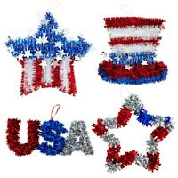 Fourth of July Decorations for Home 4pk, Memorial Day, Patriotic, 4th of July