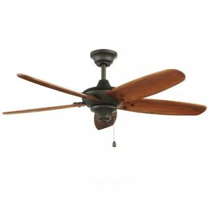 Altura 48 in. Indoor/Outdoor Oil-Rubbed Bronze Ceiling Fan