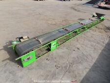 2017 E-Z Lift 71-18 21' Troughing Slider Belt Material Conveyor 115V bidadoo