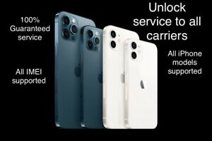 iPhone Unlock Service Code All carrier All Imei Supported Guaranteed 100%
