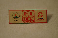 Collectable - Melbourne 2006 -Commonwealth Games - Go Team England - Badge-Pin
