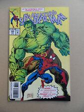 Amazing Spider-Man 382 .Hulk App .  Marvel 1993 . VF