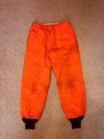 Blaze Orange Hunting Pants