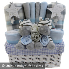 Baby gift basket/hamper twin boys baby shower new baby gift nappy cake boy twins