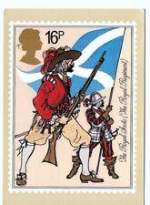 Royal Mail stamp Postcard British Army Royal scots PHQ68a 1983
