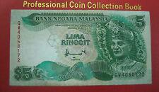 RM5 Ahmad Don sign 7th series - last prefix QW 4058172 (GVF)