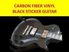 STICKER VINYL CARBON FIBER TO DECORATE GUITAR BODY TYPE GIBSON LES PAUL GITARRE