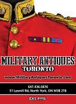 military*antiques*toronto