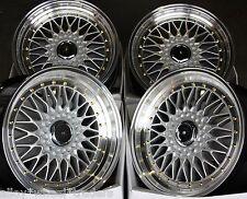 "18"" DARE RS ALLOY WHEELS FITS 5X98 ALFA ROMEO 147 156 164 GT FIAT 500L DOBLO"