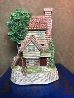 Will Scarlett's Den David Winter Sherwood Forest Collection Mint Coa