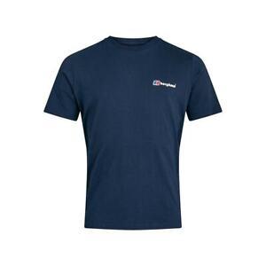Berghaus Mens Organic Classic Logo T-Shirt (Navy)