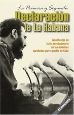 La primera y segunda declaración de La Habana : Manifiestos de lucha-ExLibrary