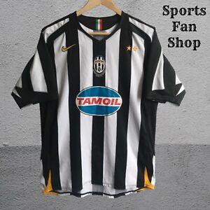 Juventus 2004/2005 Home Size M Nike shirt jersey maillot football soccer trikot
