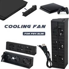 Console Cooler External USB HUB Super Turbo Cooling Fan For PS4 Playstation Slim