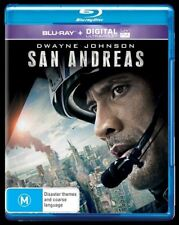 San Andreas M Rated DVD & Blu-ray Movies 2015 DVD Edition Year
