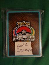 LOT OF 7 POKEMON WORLD CHAMPIONSHIPS CARDS: 2004, 2006, 2010, 2012
