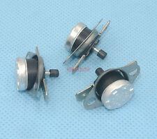 5pcs Manual reset Bimetal disc thermostat KSD301 N/C 115 °C Flush Mount Type