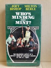Who's Minding the Mint? VHS ~ Joey Bishop & Milton Berle ~ NEW