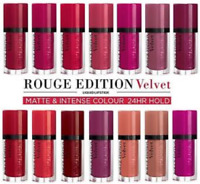 BOURJOIS ROUGE EDITION VELVET MATTE AND NTENSE COLOUR LIQUID LIPSTICK CHOOSE