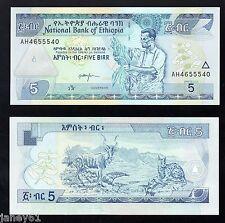 ~ BANCONOTA ETIOPIA 5 BIRR - 2000 ~
