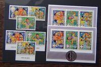Aitutaki 1983 Scout Movement 1983 Scout Jamboree set & Miniature Sheet MNH