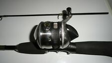 "Rhino fishing Pole medium light 5'6"" and authentic 33 Spin Cast Reel"