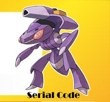 Pokemon Serial code - Genesect Sword & Shield Region free