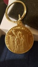 """Avon 2001 """"A GREAT NATION STANDS AMERICA UNITED""""  Key Chain"""