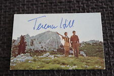 "MARIO GIROTTI = TERENCE HILL signed Autogramm auf 8,5x5,5 ""WINNETOU"" SB InPerson"